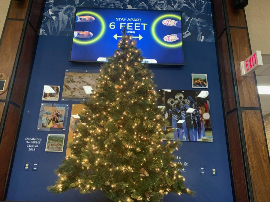 North Penn High School's 2020 Christmas tree.