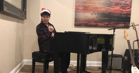 Despite school not being the same as last year, North Penn senior Michael Nguyen still plans on spreading the holiday spirit with some holiday songs.