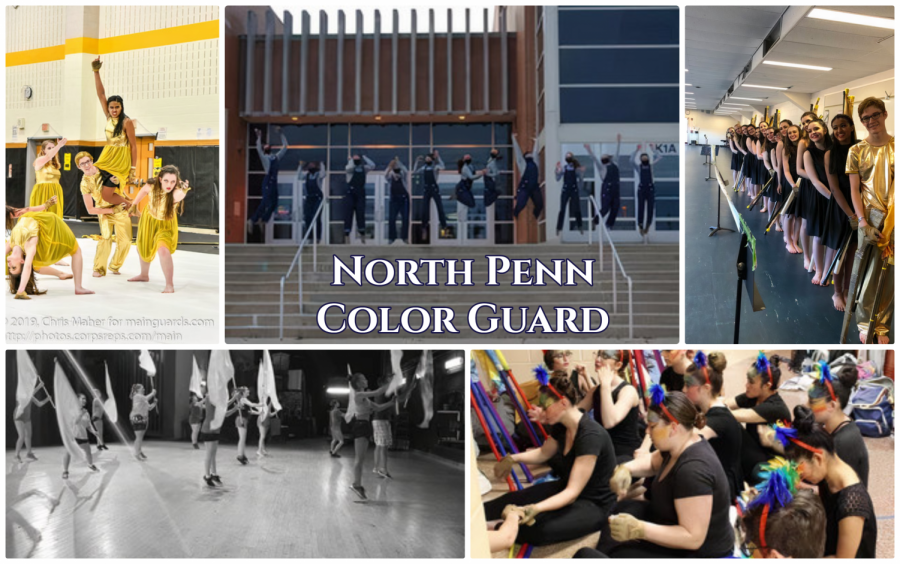With their breathtaking performances, the color guard team proves to be one of the most underrated sports at North Penn.