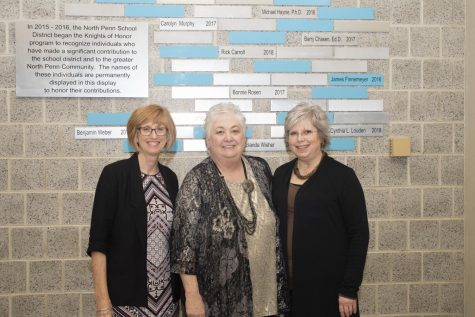 Debra Buckner, Cindy Louden, and Andrea Roney after Louden
