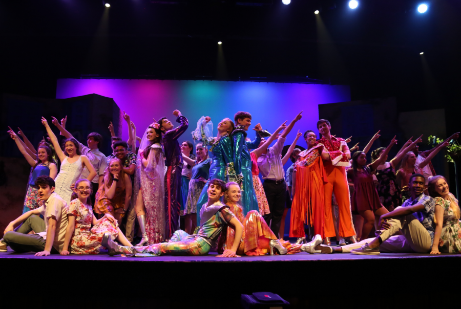 Company. Mamma Mia! 2019....The last spring musical in the NPHS auditorium before the pandemic hit, (aka the Good Ole Days).