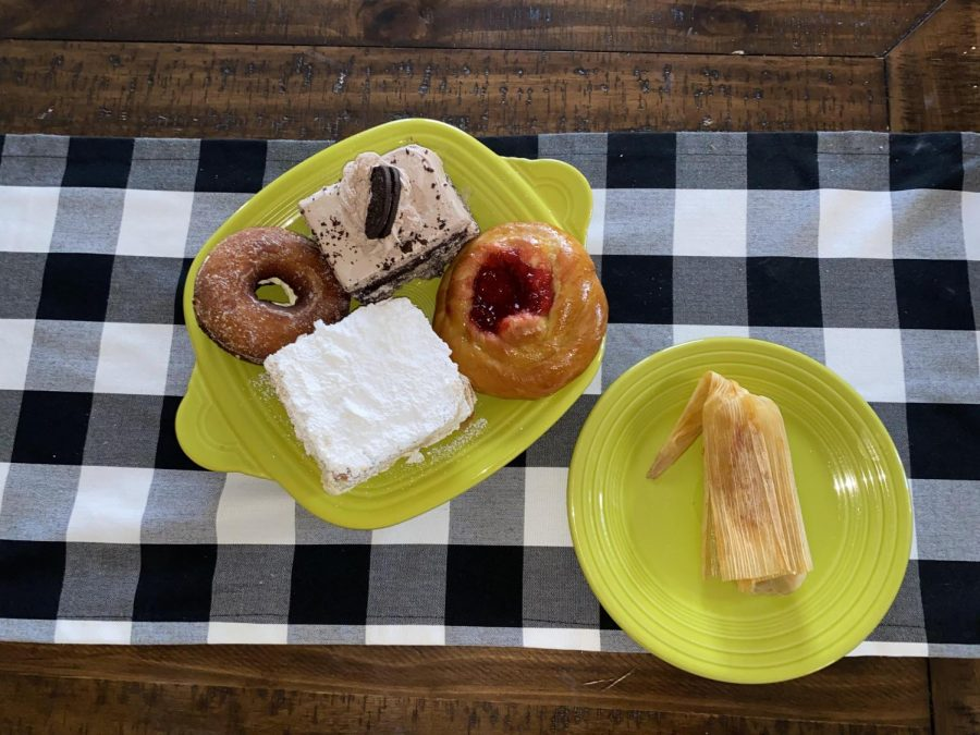 A variety of Mercy Bakery's offerings, as sampled by staff writer Maggie Robinson.