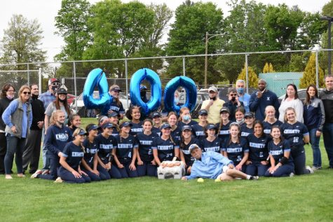 North Penn Softball celebrates Coach Torresani