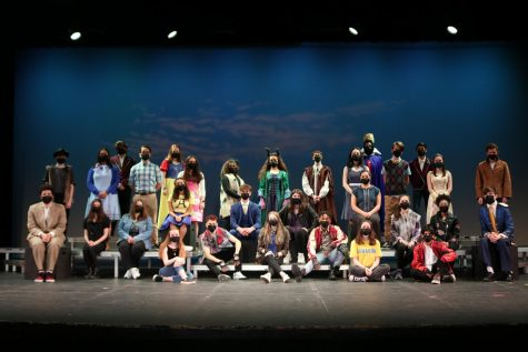 The cast of NPHS Theatre