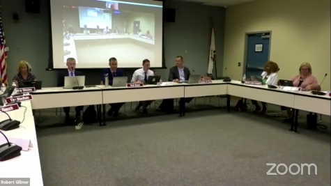 North Penn School Board meets fully in person at the ESC to discuss the 2021-2022 school year