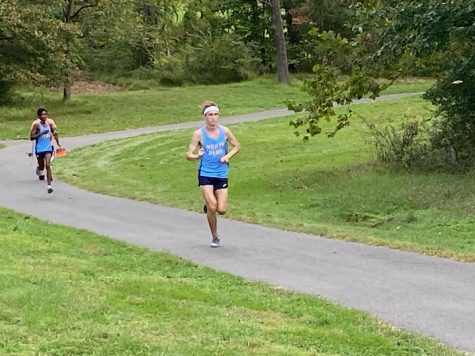 Junior captain Colin Fisher competing against CB West on September 22nd.