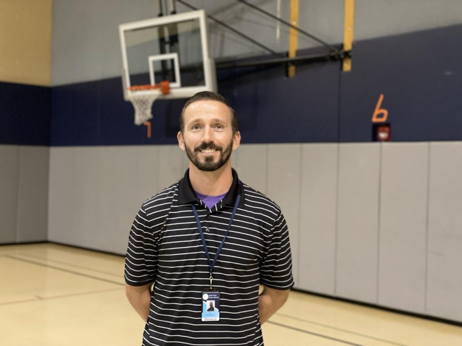 Mr. David Engle happy to be starting his North Penn Career
